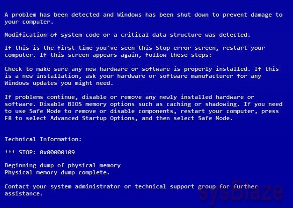 how to fix blue screen windows xp without cd